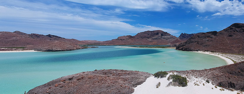 best beaches in La Paz